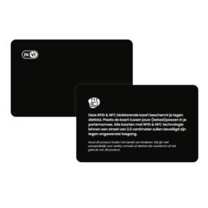 RFID blokkerende kaart bedrukken